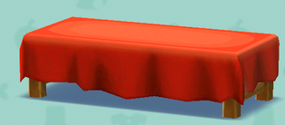 ポケ森の和風なベンチ