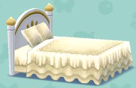 ポケ森のロイヤルなベッド