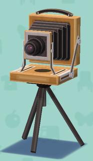 ポケ森のレトロなカメラ