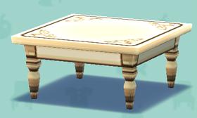 ポケ森のカントリーなテーブル(クラフト)