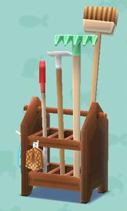 ポケ森のガーデニングツール