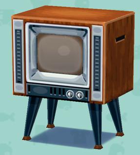 ポケ森のレトロなテレビ
