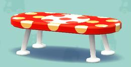 ポケ森の水玉なローテーブル