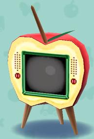 ポケ森のリンゴのテレビ
