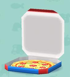 ポケ森の宅配ピザ