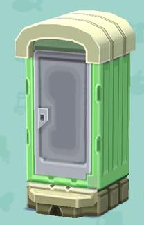 ポケ森の仮設トイレ