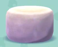 ポケ森のマシュマロのイス