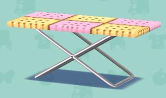 ポケ森のお菓子のテーブル(クラフト)
