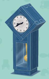 ポケ森の青い時計