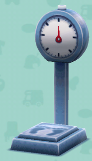 ポケ森の体重計
