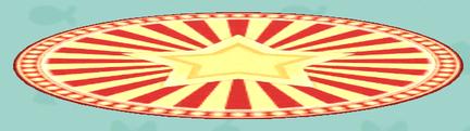 ポケ森の丸いステージのラグ
