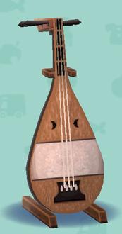 ポケ森の琵琶
