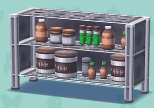 ポケ森の薬品棚