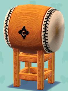 ポケ森の和太鼓