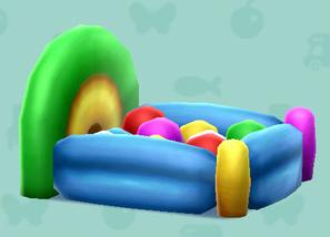 ポケ森のバルーンベッド