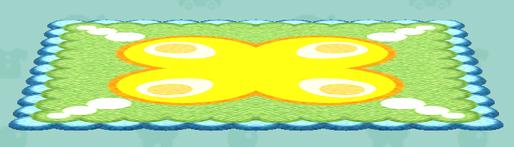 ポケ森のタマゴのラグ