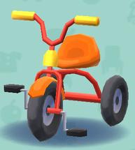 ポケ森の三輪車