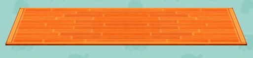 ポケ森の檜舞台のラグ