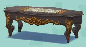 ポケ森のロココなテーブル