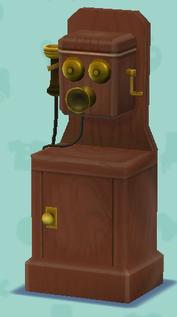 ポケ森のレトロな電話