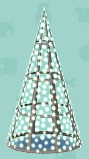ポケ森のイルミネーションなタワー