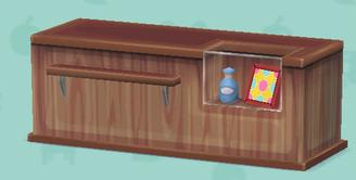ポケ森の木製カウンター(クラフト)