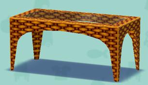 ポケ森のリゾートなテーブル