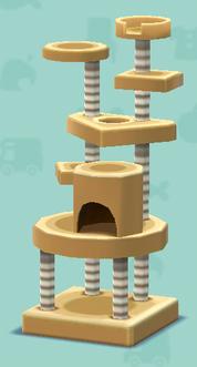 ポケ森のキャットタワー