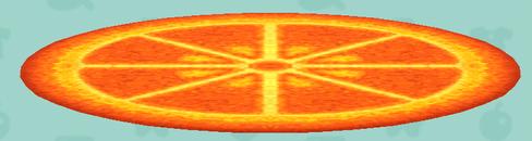 ポケ森のフルーツのラグ