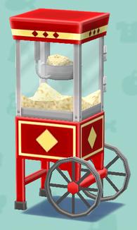 ポケ森のポップコーンマシン