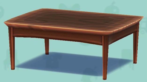ポケ森のナチュラルなテーブル