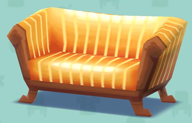 ポケ森のシックなソファ