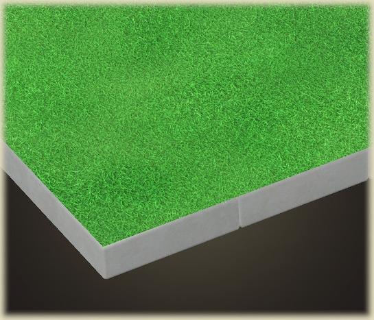 あつ森の芝生の床