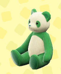 あつ森のパンダのシャオシャオ