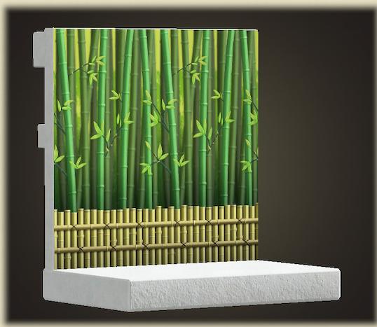 あつ森の竹林の壁