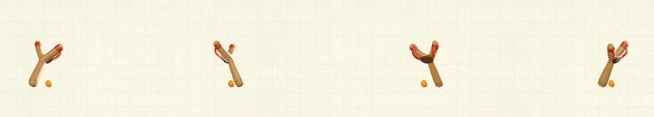 あつ森のパチンコのリメイクレッドパターン