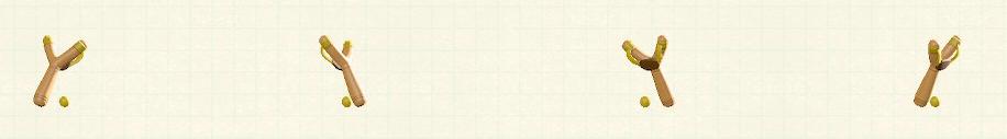 あつ森のパチンコのリメイクイエローパターン