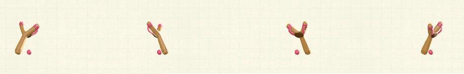 あつ森のパチンコのリメイクピンクパターン