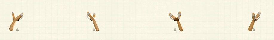 あつ森のパチンコのリメイクホワイトパターン