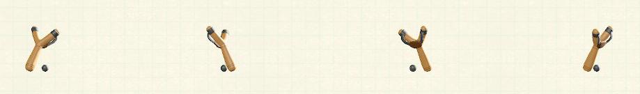 あつ森のパチンコのリメイクグレーパターン