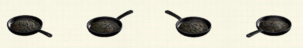 あつ森のフライパンのリメイク失敗作パターン