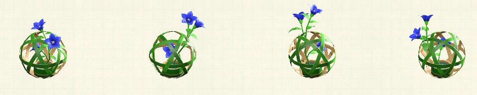 あつ森の竹のまりのリメイク青竹パターン