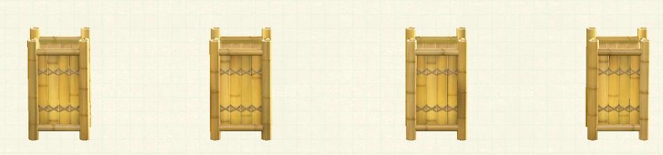 あつ森の竹のフロアスタンドのリメイク枯竹パターン
