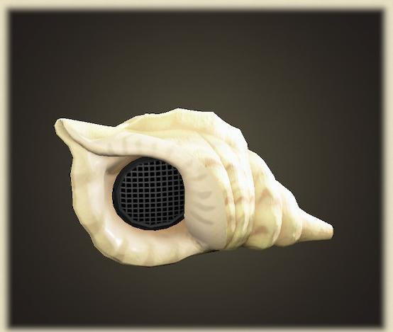 あつ森の貝殻のスピーカー