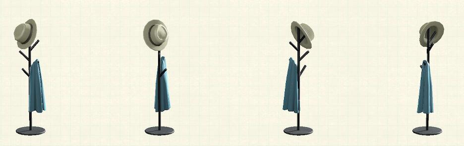 あつ森のアイアンハンガースタンドのリメイクマイデザインパターン