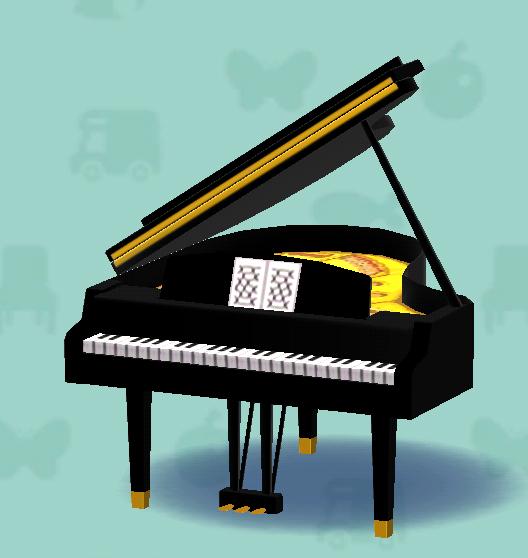 ポケ森のグランドピアノ