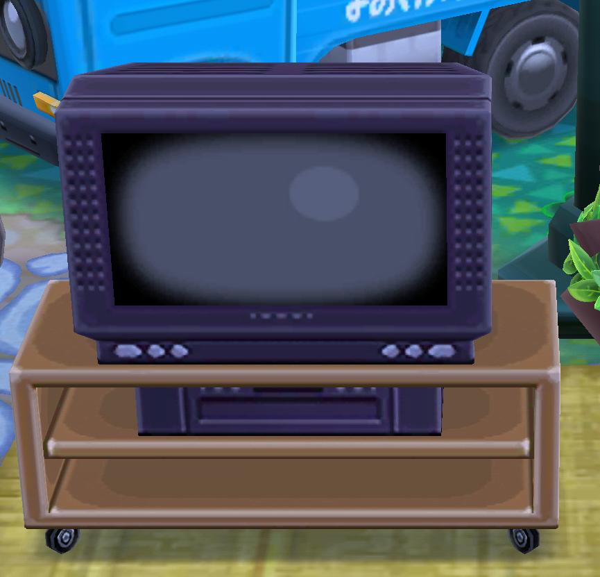 ポケ森の32型ワイドテレビ