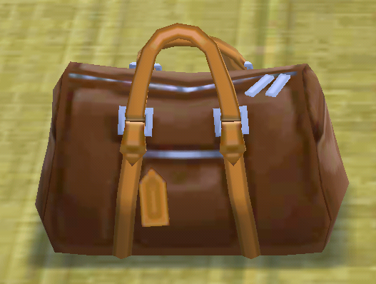 ポケ森のボストンバッグ