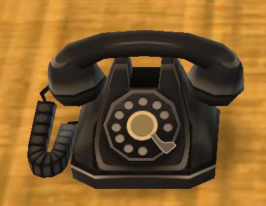 ポケ森の黒電話