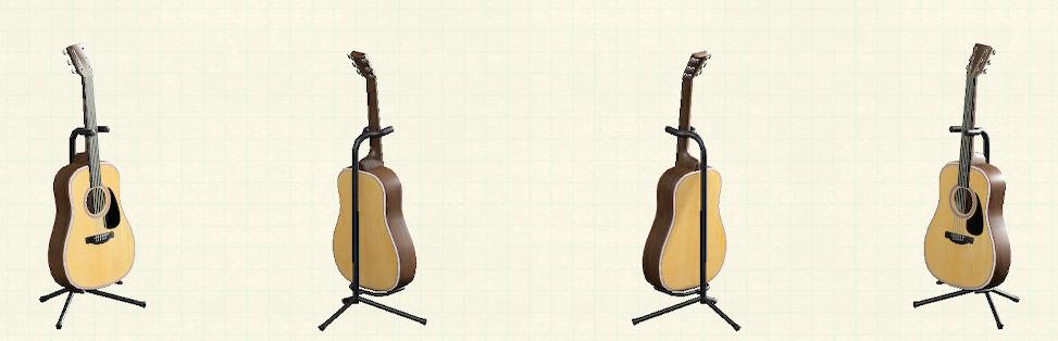 あつ森のアコースティックギターのリメイクナチュラルパターン